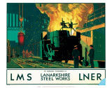 Lanarkshire Steel Works  LMS/LNER  c1935
