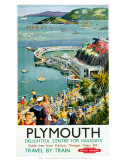 Plymouth, BR (WR), c.1950s Reproduction d'art