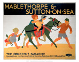 Mablethorpe & Sutton-on-Sea, LNER, c.1923-1947 Reproduction d'art