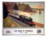 100 Years of Progress  1835-1935  GWR  c1935