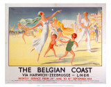 The Belgian Coast  LNER  c1934