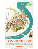 Londonderry  BR  c1953