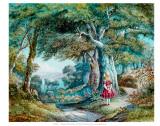 Alice au pays des merveilles Reproduction d'art