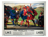 The Highland Games  LMS and LNER  c1930s