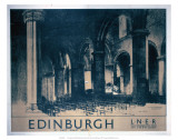 Edinburgh: St Giles Cathedral  LNER  c1930