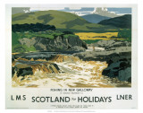 Fishing in New Galloway  LMS/LNER  c1923-1947