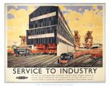 New Ore Discharging Plant at General Terminus Quay  Glasgow  c1948-1965