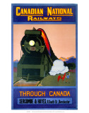 Through Canada  Canadian National Railways  c1930s