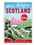 All-In Holidays in Scotland  Creative Tourist Agents Conference/BR  c1950s