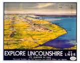 Explore Lincolnshire  LNER  c1936