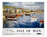Go abroad to the Isle of Man  BR (LMR)  c1948-1965