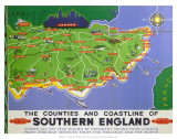 Southern England  BR  c1950s