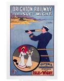 Brighton Railway for the Isle of Wight  LBSCR  c1910