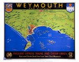 Weymouth and District  Dorset  SR/GWR  c1938