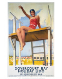 Dovercourt Bay  Holiday Lido  LNER  c1941