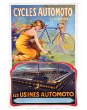 Cycles Automoto St Etienne  Les Usines Automoto  c1914