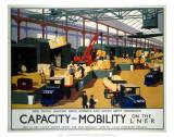 Capacity/Mobility on the LNER  LNER  c1933