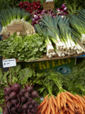 Vegetable Stall at Saturday Market  Salamanca Place  Hobart  Tasmania  Australia