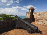Cannon at Fuerte De San Felipe Fort  Puerto Plata  North Coast  Dominican Republic