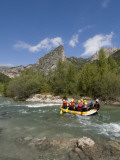 Rafting on Verdon River  Gorges Du Verdon  Provence  France