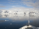 Prince Albert Ii Sailing Into Paradise Harbor  Antarctic Peninsula  Antarctica