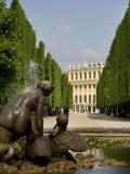 Schonbrunn Palace Sculpture  Vienna  Austria