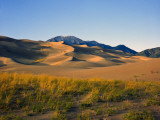 Sand Dunes in Mesquite Flat  Death Valley National Park  California  USA