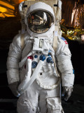 Astronaut Moonwalk Suit at the US Space & Rocket Center  Huntsville  Alabama  USA