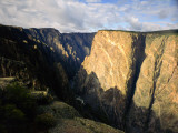 Black Canyon of the Gunnison National Monument on the Gunnison River From Near East Portal  CO