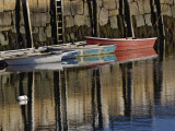 Boat in Harbor  Cape Ann  Rockport  Massachusetts  USA