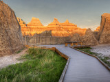 Northeast Entrance  Badlands National Park  South Dakota  USA