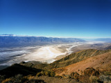 Dante&#39;s View in the Black Mountains  Death Valley&#39;s Badwater Basin and the Panamint Range  CA