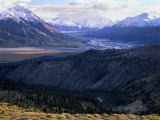 Slim's River Valley in Autumn  Kluane National Park  Yukon Territory  Canada