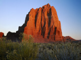 Temple of the Sun  Lower Cathedral Valley  Colorado Plateau  Capitol Reef National Park  Utah  USA