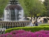 Pineapple Fountain  Charleston  South Carolina  USA