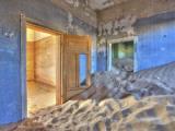 Kolmanskuppe Ghost Town  Luderitz  Namibia  Africa