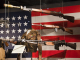 Display of Us Military Weapons  National World War Two Museum  New Orleans  Louisiana  USA