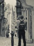 St Ursula Street and Visitor  Triq Sant-Orsla  Valletta  Malta