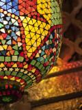 Lamp in Antique Shop  Marrakech  Morocco