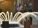 Long Exposure on Fountain  Charleston  South Carolina  USA