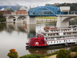 Delta Queen Riverboat  Tennessee River  Chattanooga  Tennessee  USA