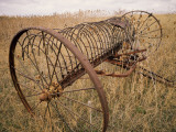 Old Hayrake &amp; Teasle Near Preston  Cache Valley  Idaho  USA
