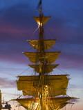Boston Tall Ships Festival  Dutch Barque Europa  Boston  Massachusetts  USA
