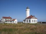 Point Wilson Lighthouse  Port Townsend  Washington  USA