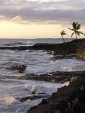 Kona Coastline  Island of Hawaii  USA