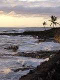 Kona Coastline  Island of Hawaii  USA