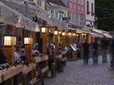 Livu Laukums Square Cafes  Old Riga  Vecriga  Latvia