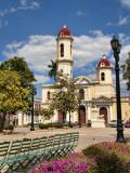 Beautiful Immaculate Conception Catholic Church in Cienfuegos  Cuba