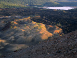 Painted Dunes & Lava Beds  Lassen Volcanic National Park  California  USA