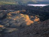 Painted Dunes & Lava Beds  Lassen Volcanic National Park  California  USA